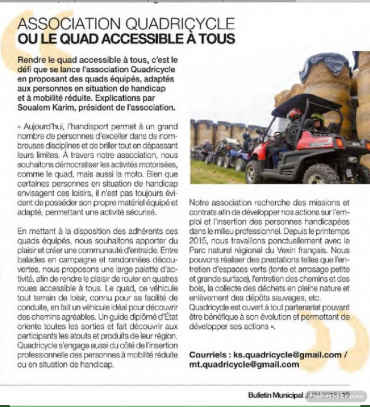 L'association Quadricycle